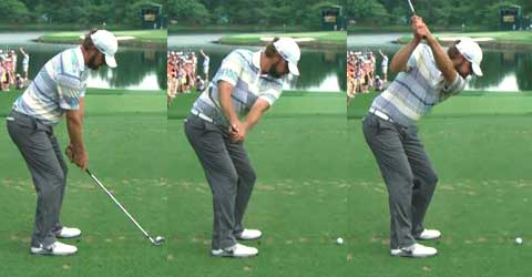 luke donald swing sequence. Sequence of Lucas Glover hand