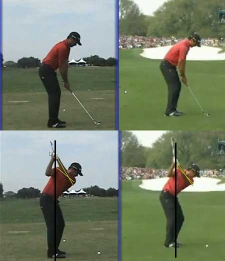 Jason Day -- swing positions