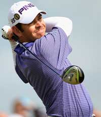 Louis Oosthuizen at the Open