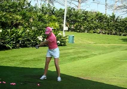 Paula Creamer's one-piece takeaway