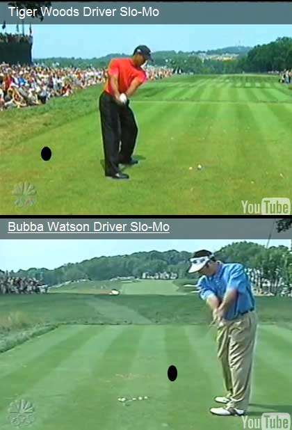 Tiger and Bubba do a one-piece takeaway